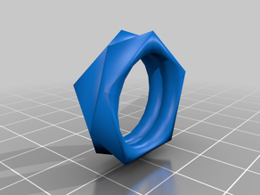 Triangular Design Ring