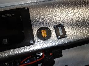 6S Balance Plug Chassis Mount