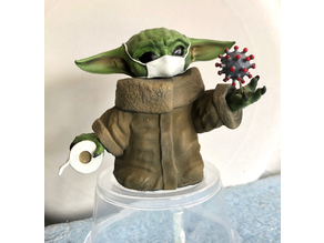 Covid-19 Baby Yoda version