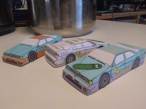Papercraft Alfa Romeo Car