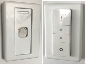 Clipsal 2000 Light Switch Philips Hue Dimmer Cover (AU)