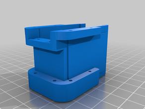 Standard Servo to Dynamixel AX-12A Mod (For Darwin OP leg joints)