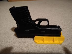 Pistol Mount Magnetic - One Hand Racking - Screw command Strip