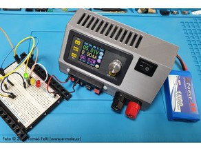 Fun science: Modular lab power supply with DPS3005