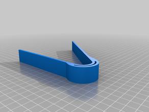 Holder and clamp for PCB etching in a rocker tank - Halter zum Ätzen von Leiterkarten auf einer Wippe