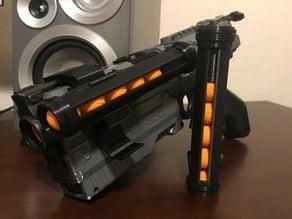 Secure Nerf Kronos Speed Loader and Rail Bracket
