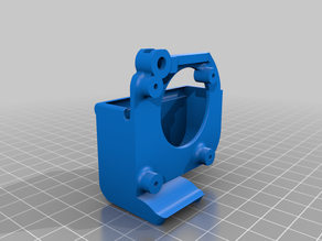 Ender 3 5015 Cooling Fan Duct for Stock Hotend