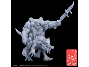 "Orc King Patreon ""Savage Orcs"" Sample"