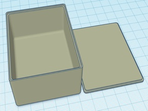 Parametric Rounded Corner Box with Optional Lid