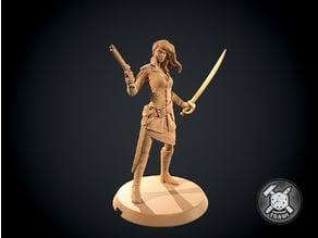 Soldier female - Robinson Crusoe