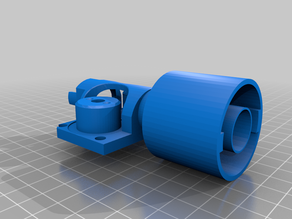 nerf barrel extension with flywheels