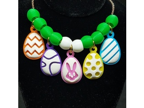 Easter Egg Pendants
