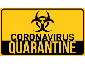 Coronavirus Quarantine Sign