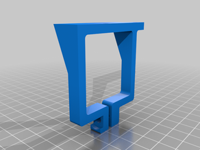 Ender 3 X Axis Extruder Stepper Clamp Mount - Capacitive ABL