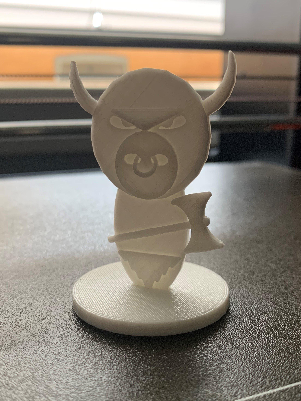 Simple Mini D&D Minotaur