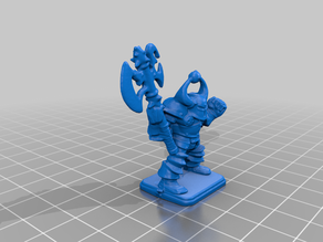 heroquest chaoswarrior with axe2