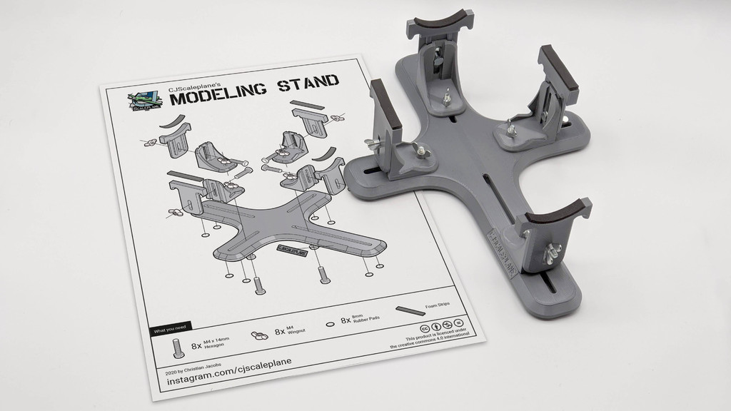 Scale Modeling Stand