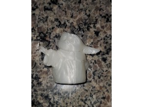the child, baby yoda, fast print , hollow