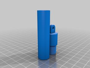 PA3D - Activité Sept-Oct 2019 - Porte-clé cylindrique avec cachette / Keychain with tube
