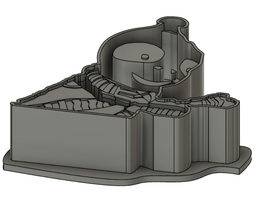 Alzák 3D vykrajovátko