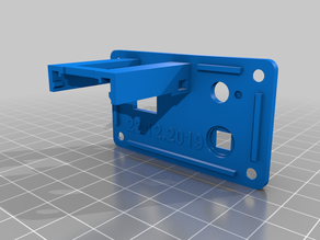 Wemos Battery Box Cover (for toggle switch)