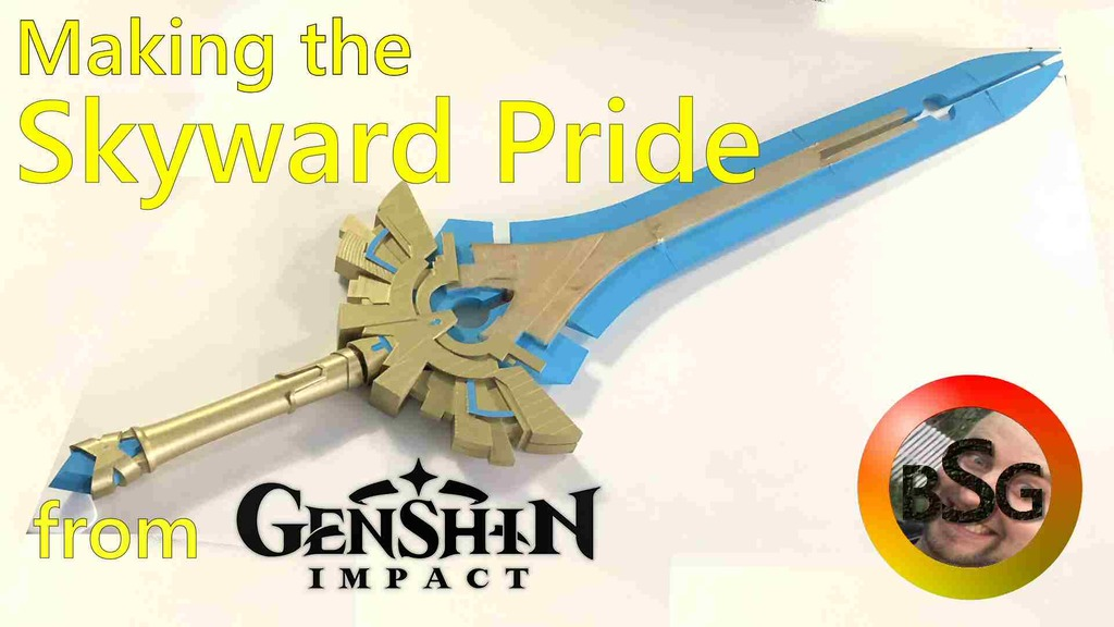 Skyward Pride from Genshin Impact