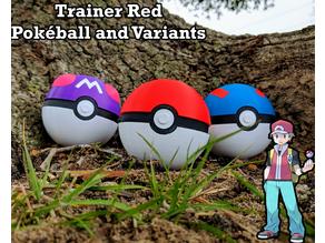 Pokeball, MasterBall, Greatball - Pokemon