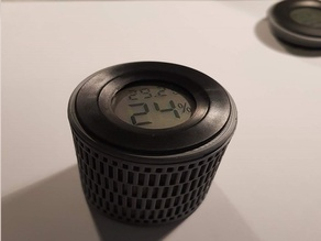 Desicant/Silica Case with hygrometer