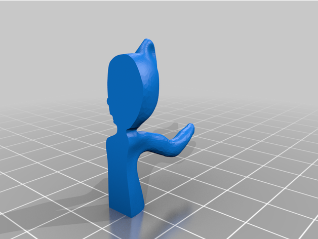 Cartoon Cat Scp By Ekvis Thingiverse