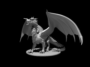 Red Dragon - Stoic Pose