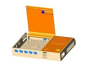Raspberry Pi Printer Enclosure Control Box (WORK IN PROGRESS)