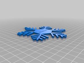 heather Snowflake Ornament