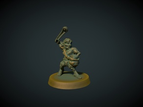 Goblin slinger 28mm (No supports needed)