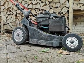 Lawnmower wheelset - O.Z Racing rally rim