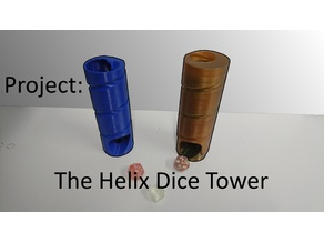 The Helix Dice Tower