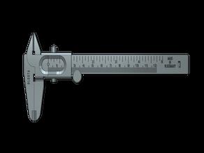 West German vernier caliper