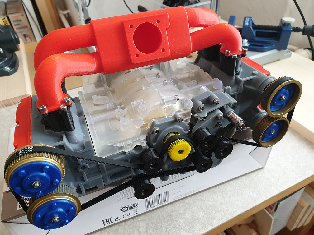 Subaru EJ20 Cutaway model by ericthepoolboy - Thingiverse