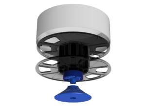 Rotating platform from filament spool R3DY