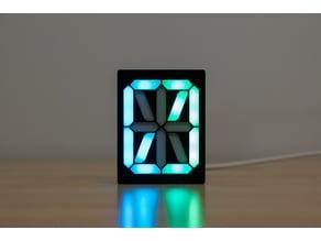 16 Segment Display (Single LED Strip)