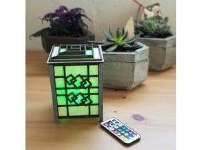 Diverse Creativity's Shoji Desk Lamp