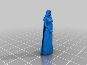 Human female cleric for fantasy roleplaying
