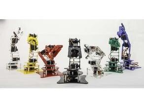 HEW-DV4 a lasercut desktop robot arm