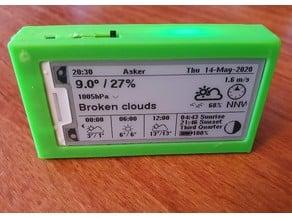 TTGO T5 V2.3 2.13 Inch E-Paper Screen Case