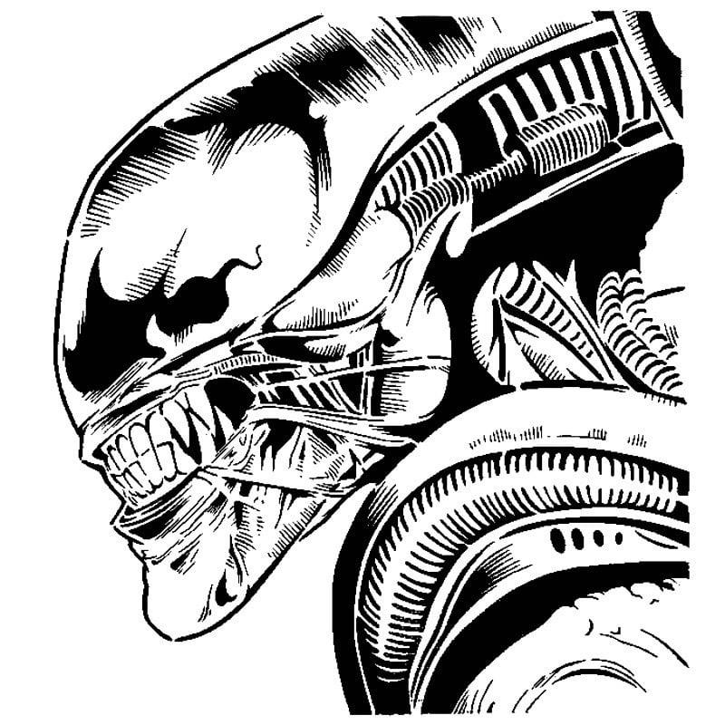 Alien stencil 2