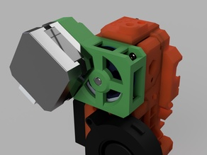 """Nema 17 Gearbox """"Pulleybox"""" Mod for Extruder"""