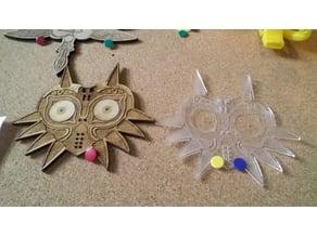 LoZ's Majora's Mask  - Lasercut