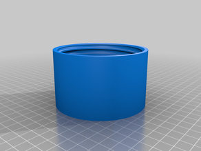3.5 inch/ 89 mm OD threaded container