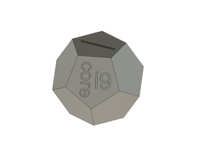 intel i9 moneybox (piggybank)