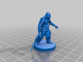 Orc Spearman Pose 3