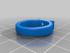 Parametric Ring with stone setting